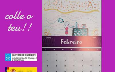 Febreiro…aínda quedan calendarios. Pide o teu no Concello.