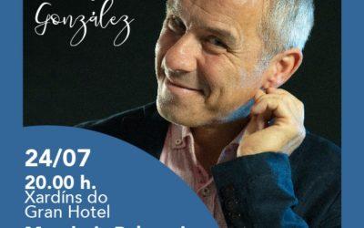 """Avelino González – """"Contos de contrabando"""", o 24 de xullo ás 20.00h nos Xardíns do Gran Hotel"""