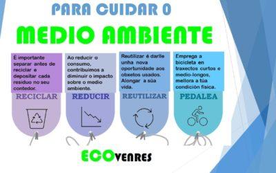 #Ecovenres: Reducir, reutilizar, reciclar e moverse en bici