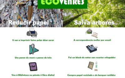 #Ecovenres: Consellos para reducir o uso de papel