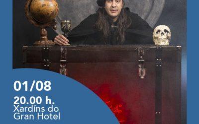 """El Mago Teto presenta """"Alquimia"""" el 1 de agosto en los jardines del Gran Hotel, a las 20:00"""
