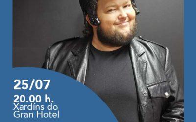 """Pedro Brandariz-""""O musical"""", o 25 de xullo ás 20.00h nos Xardíns do Gran Hotel"""