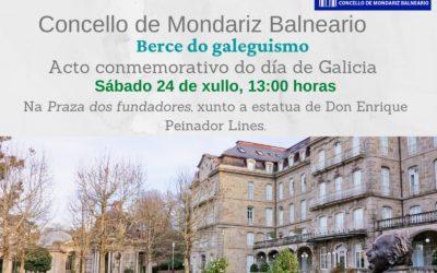 Acto conmemorativo por el Día de Galicia y Bando de Alcaldía