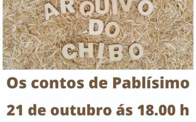 """Os Contos de Pablísimo llegan a Mondariz Balneario con """"O arquivo do Chibo""""."""